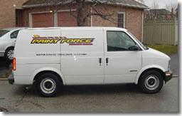 Paintforce Van