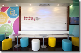 TCBY Sign