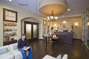Massage Heights Waiting Room