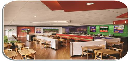 Saladworks Interior