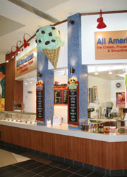 All American Ice Cream & Frozen Yogurt Exterior
