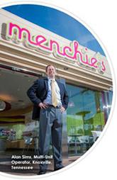 Menchie's Exterior