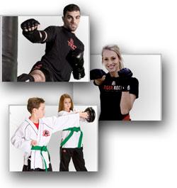 Tiger-Rock Martial Arts Trainees