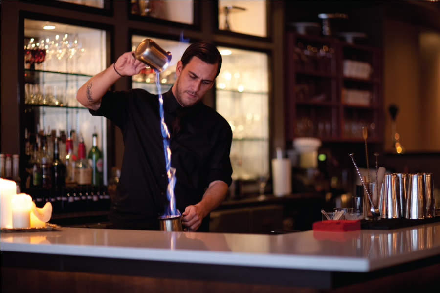 Middle Spoon Bartender