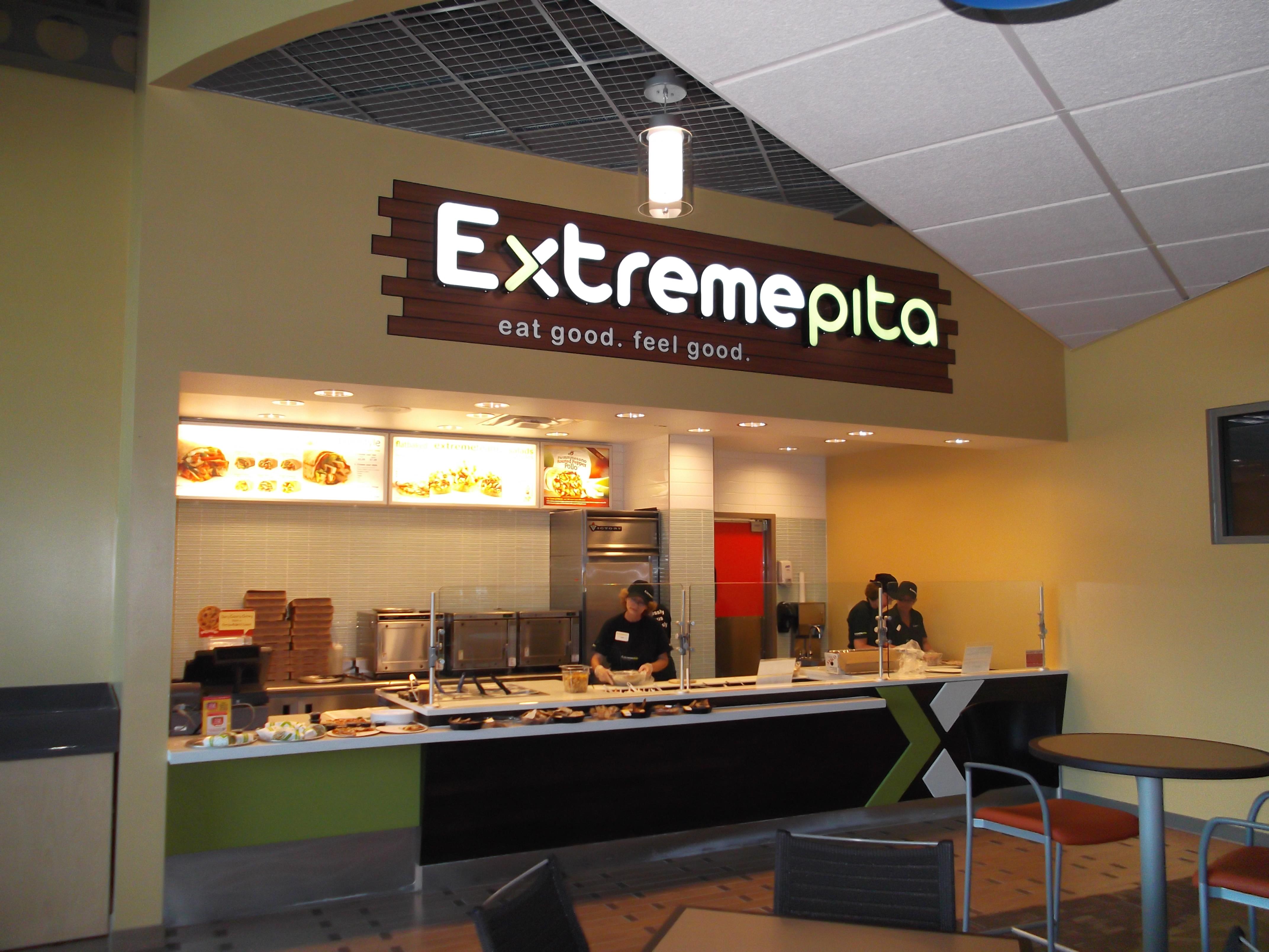 Extreme Pita Exterior