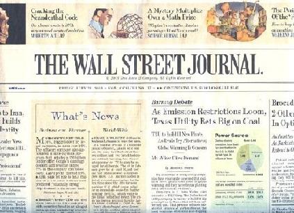 CleanPro Wall Street Journal