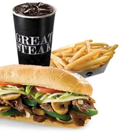 Great Steak™ Cheesesteak Meal
