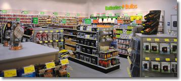 Batteries Plus Inside Store