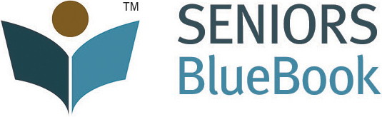 Seniors Blue Book Logo