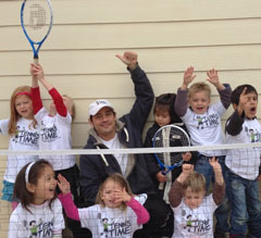 Kids Sports Business Tennis Time Business