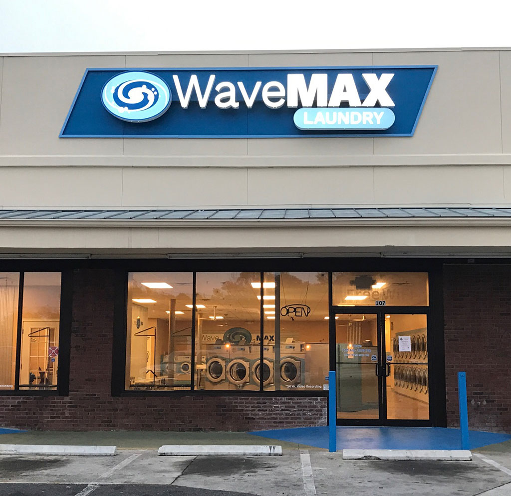WaveMAX store front