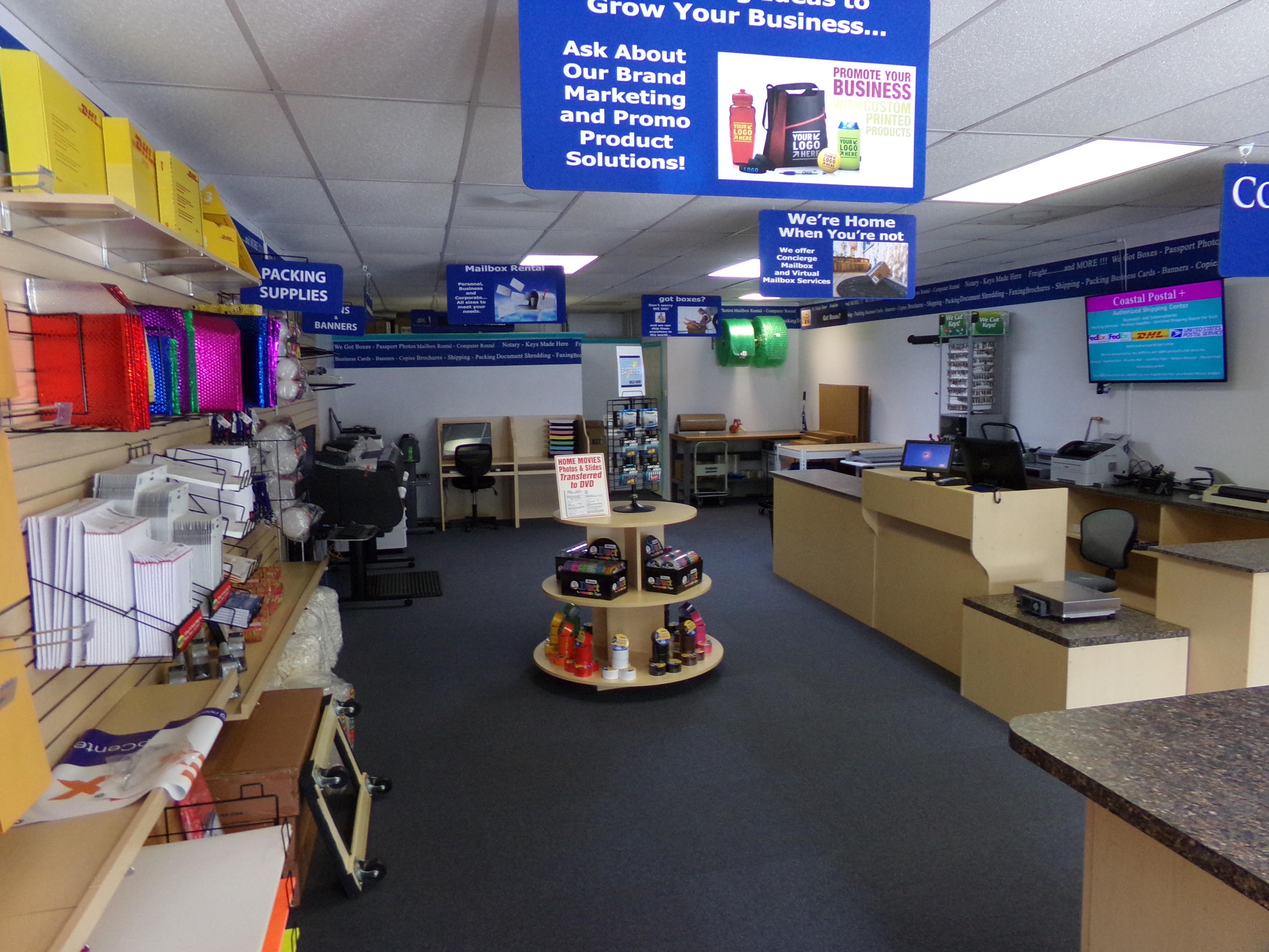 MailBox Stores Interior