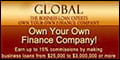 Global Financial Training System - Own Your Own Finance Company!